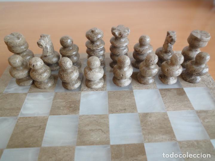 Juegos de mesa: Antiguo Ajedrez de Mexico. Tallado a mano. Sin faltas. - Foto 2 - 134786506