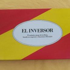 Juegos de mesa: EL INVERSOR. Lote 134788141