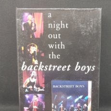 Juegos de mesa: PACK EDICION COLECCIONISTA - BACKSTREET BOYS - VHS MUSICAL - NIGHT OUT WITH THE - CAR112. Lote 134789898