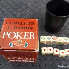 Juegos de mesa: JUEGO DE DADOS. Lote 134941938