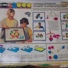 Juegos de mesa: ANTIGUO GEYPER 2000, REF: 6008 VER FOTOS ESTADO CAJA Y CONTENIDO PIEZAS. Lote 135174159