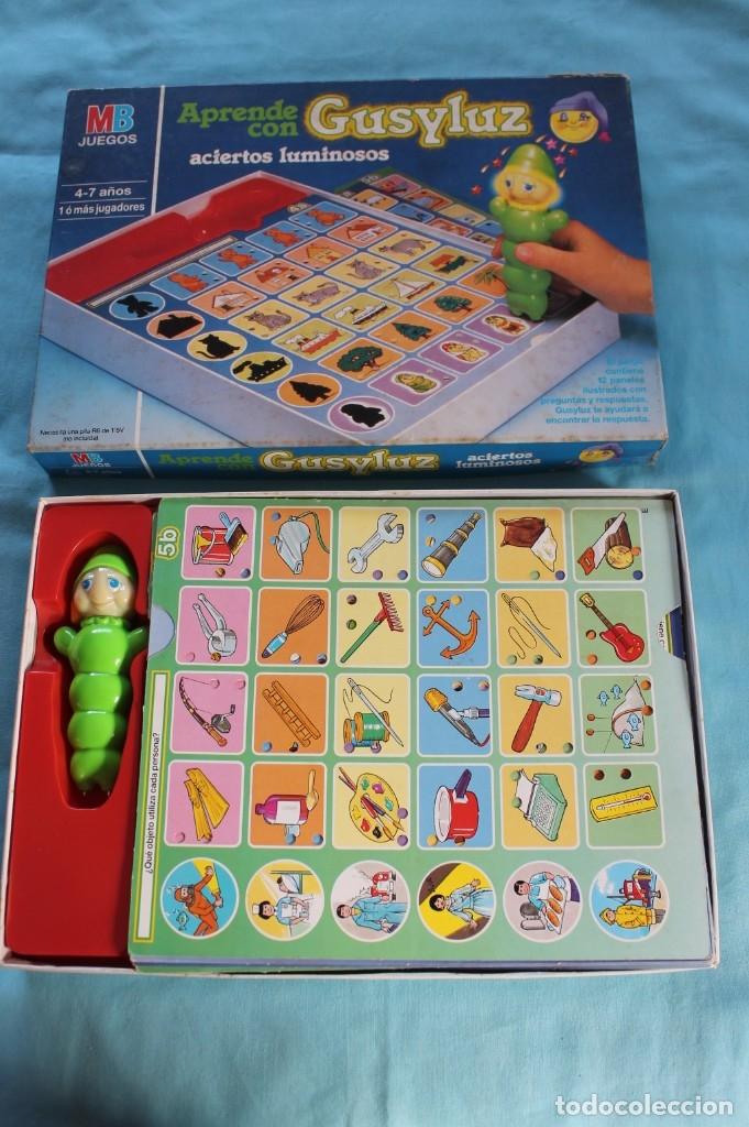 Juegos de mesa: GUSILUZ ACIERTOS LUMINOSOS-Años 90 - Foto 4 - 66498558