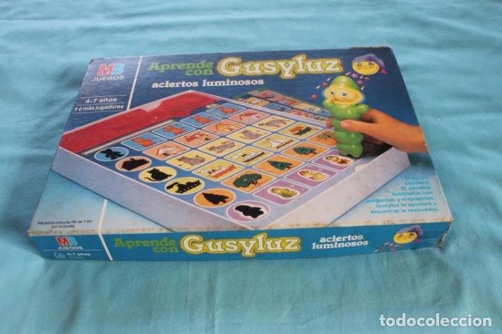 Juegos de mesa: GUSILUZ ACIERTOS LUMINOSOS-Años 90 - Foto 2 - 66498558