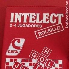 Juegos de mesa: JUEGO INTELECT BOLSILLO CEFA. Lote 135623898