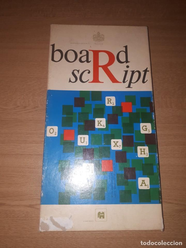 JUEGO BOARDSCRIPT (Juguetes - Juegos - Juegos de Mesa)