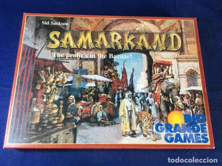 JUEGO DE ESTRATEGIA SAMARKAND DE RIO GRANDE GAMES (Juguetes - Juegos - Juegos de Mesa)