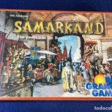 Juegos de mesa: JUEGO DE ESTRATEGIA SAMARKAND DE RIO GRANDE GAMES. Lote 135721359