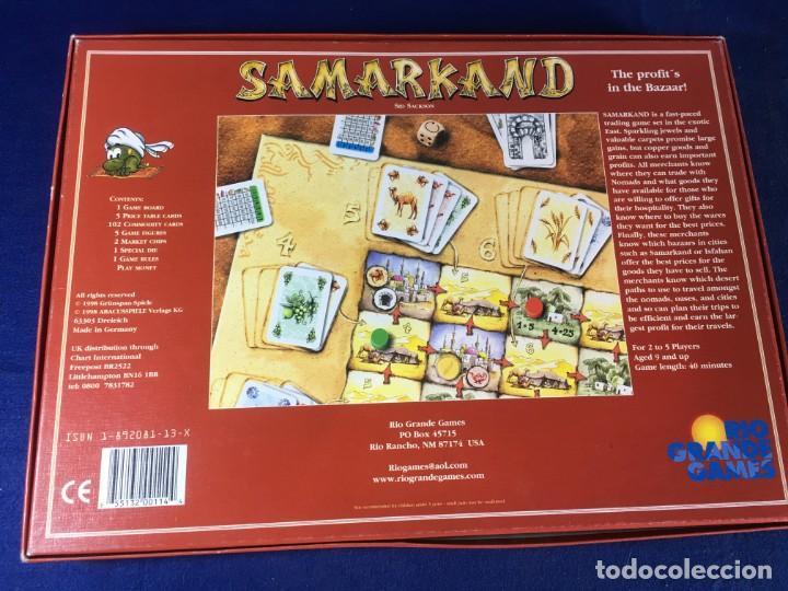 Juegos de mesa: JUEGO DE ESTRATEGIA SAMARKAND DE RIO GRANDE GAMES - Foto 2 - 135721359