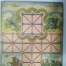 Juegos de mesa: ANTIGUO TABLERO JUEGO DE ASALTO, AÑOS 30, BUEN ESTADO, MEDIDAS 26,5 X 36 CM. Lote 135741303