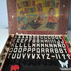 Juegos de mesa: AIRGAM, ANTIGUO JUEGO LETRAS EQUILIBRISTAS. Lote 135803430