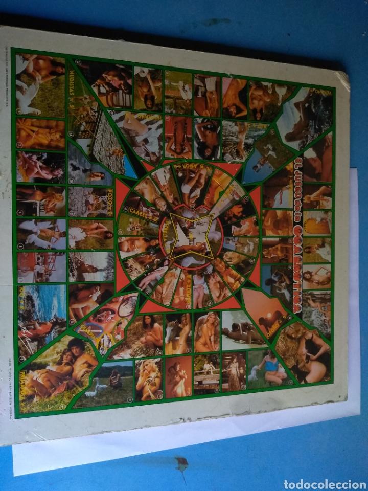 JUEGO DE LA OCA ERÓTICA, AÑOS 80 (Juguetes - Juegos - Juegos de Mesa)