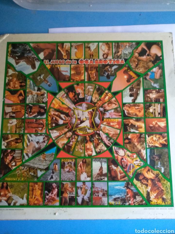 Juegos de mesa: Juego de la OCA Erótica, años 80 - Foto 2 - 136014976