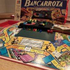 Juegos de mesa: MB BANCARROTA, COMPLETO, ANTIGUO. Lote 136028358