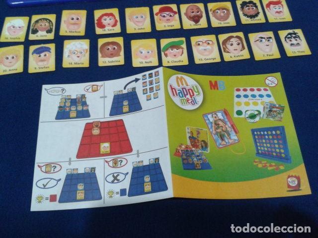 Juegos de mesa: JUEGO DE MESA ( ¿ QUIEN ES QUIEN ? ) 2008 HASBRO HAPPY MEAL COMPLETO NUEVO - Foto 5 - 136118770