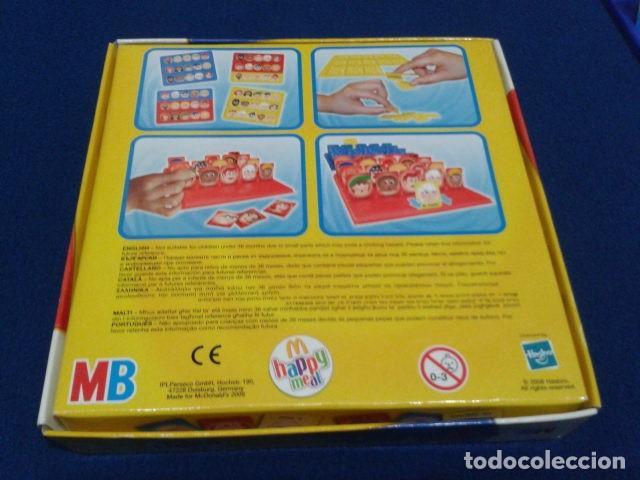 Juegos de mesa: JUEGO DE MESA ( ¿ QUIEN ES QUIEN ? ) 2008 HASBRO HAPPY MEAL COMPLETO NUEVO - Foto 7 - 136118770