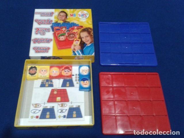 Juegos de mesa: JUEGO DE MESA ( ¿ QUIEN ES QUIEN ? ) 2008 HASBRO HAPPY MEAL COMPLETO NUEVO - Foto 9 - 136118770