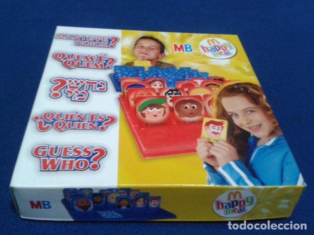 JUEGO DE MESA ( ¿ QUIEN ES QUIEN ? ) 2008 HASBRO HAPPY MEAL COMPLETO NUEVO (Juguetes - Juegos - Juegos de Mesa)