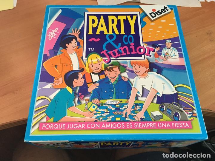 Party Co Junior Diset J 0 Comprar Juegos De Mesa Antiguos En