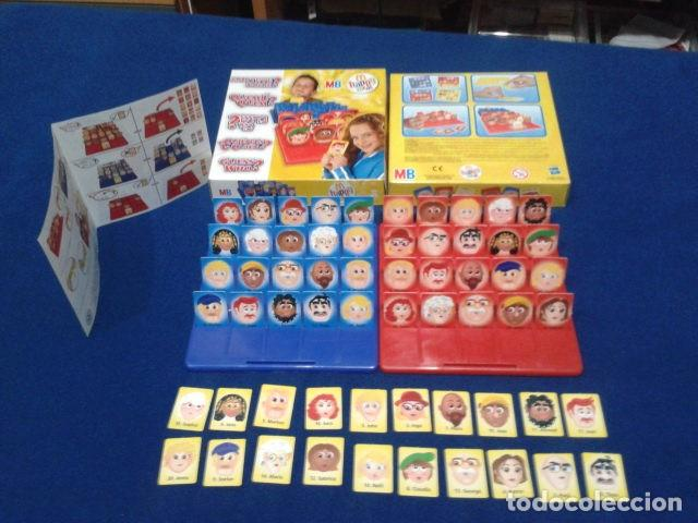 Juegos de mesa: JUEGO DE MESA ( ¿ QUIEN ES QUIEN ? ) 2008 HASBRO HAPPY MEAL COMPLETO NUEVO - Foto 2 - 136118770