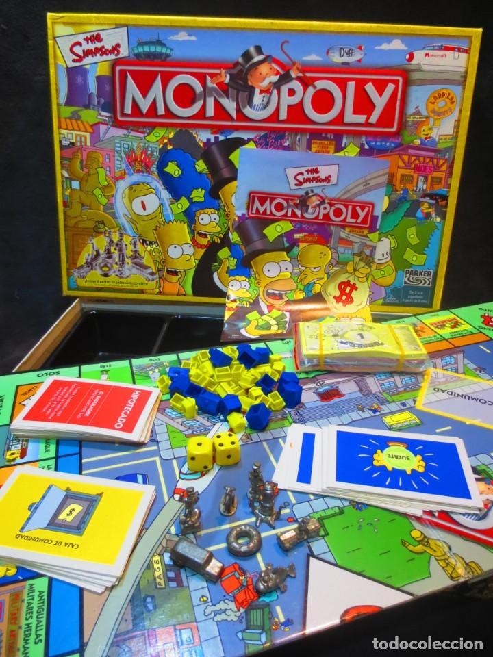 Monopoly The Simpsons Parker Hasbro Comprar Juegos De Mesa