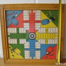 Juegos de mesa: JUEGO ANTIGUO DE LOS AÑOS 30 PARCHIS Y OCA .. Lote 136225922