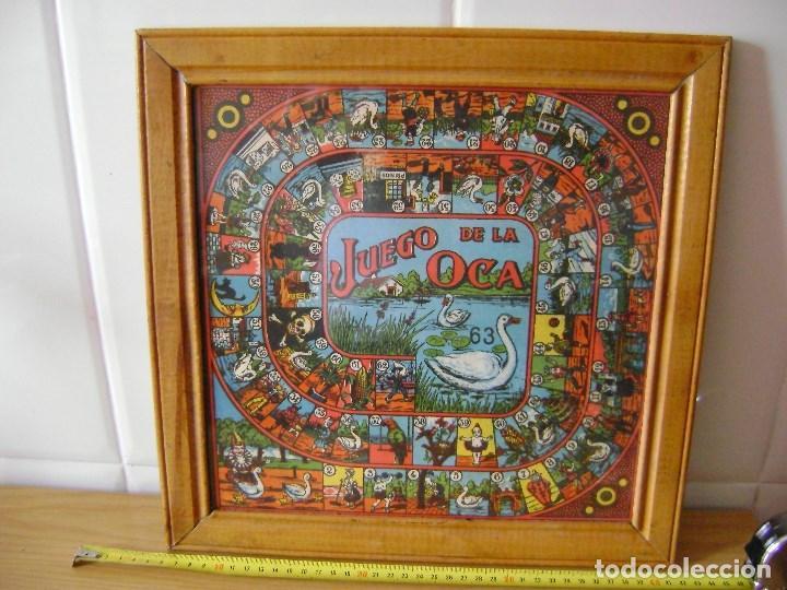 Juegos de mesa: JUEGO ANTIGUO DE LOS AÑOS 30 PARCHIS Y OCA . - Foto 2 - 136225922