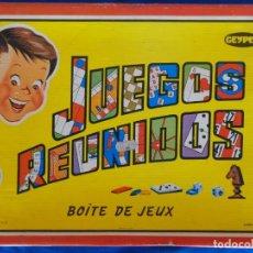 Juegos de mesa: GEYPER - JUEGOS REUNIDOS GEYPER COMPLETO Y SIN SEÑALES DE USO, ORIGINAL AÑOS 70, VER FOTOS! SM. Lote 136408442