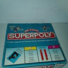 Juegos de mesa: SUPERPOLY COMPLETO. Lote 136448526