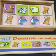 Juegos de mesa: DOMINO ANIMALES - CAR116. Lote 136647209