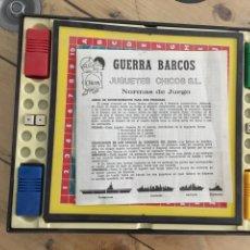 Juegos de mesa: GUERRA DE BARCOS JUGUETE CHICOS. Lote 136846096