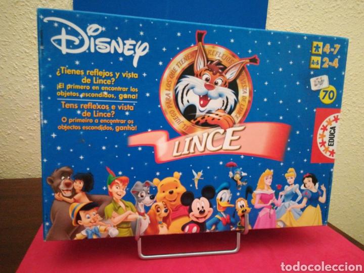 Disney Lince Juego De Mesa Completo Con Instruc Comprar Juegos De