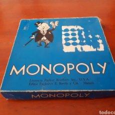 Juegos de mesa: MONOPOLY AÑOS 60 AZUL CALLES BARCELONA. Lote 137308232