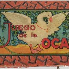 Juegos de mesa: JUEGO DE LA OCA. CAJA Y TABLERO ORIGINAL. CIRCA 1930.. Lote 137482846