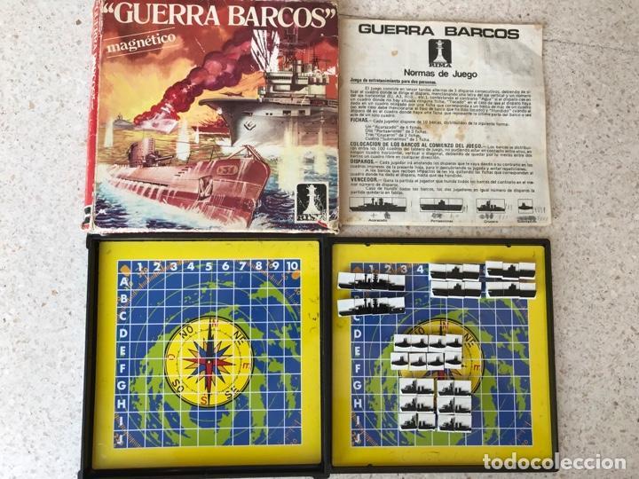 GUERRA DE BARCOS RIMA REF.2037 MAGNÉTICO COMPLETO (Juguetes - Juegos - Juegos de Mesa)