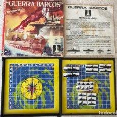 Juegos de mesa: GUERRA DE BARCOS RIMA REF.2037 MAGNÉTICO COMPLETO . Lote 137503250