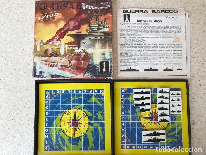 GUERRA DE BARCOS RIMA REF.2037 MAGNÉTICO A FALTA DE UNA PIEZA (Juguetes - Juegos - Juegos de Mesa)