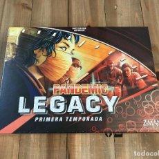 Juegos de mesa: JUEGO DE MESA - PANDEMIC LEGACY - TEMPORADA 1 - ED. ESPAÑOLA Z-MAN GAMES - PRECINTADO - CAJA ROJA. Lote 137609226