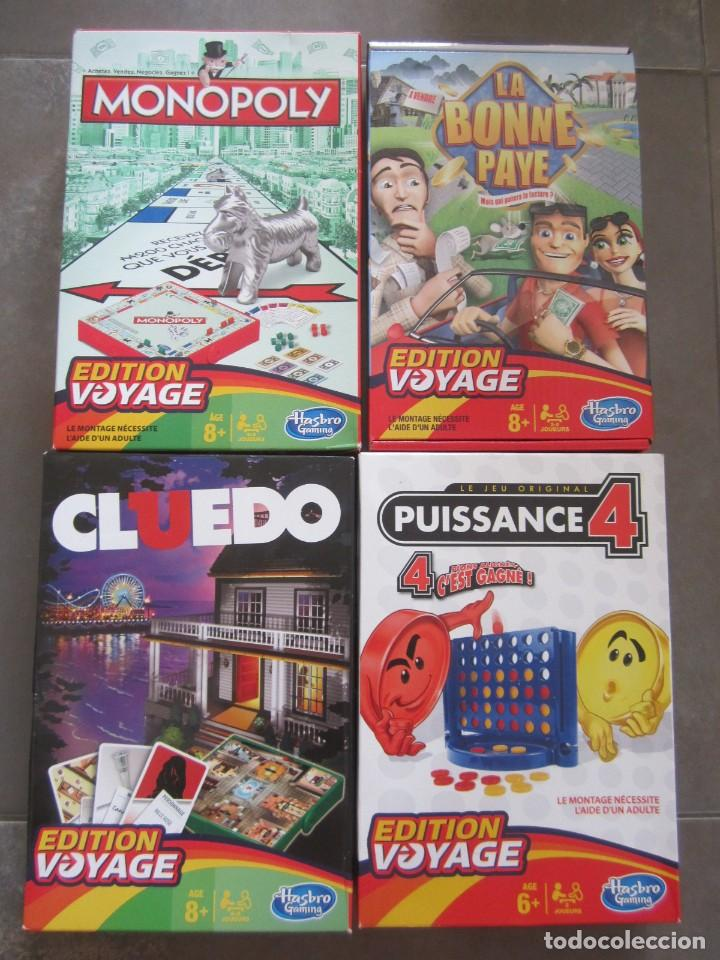 Lote 4 Juegos De Viaje De Hasbro En Frances Comprar Juegos De