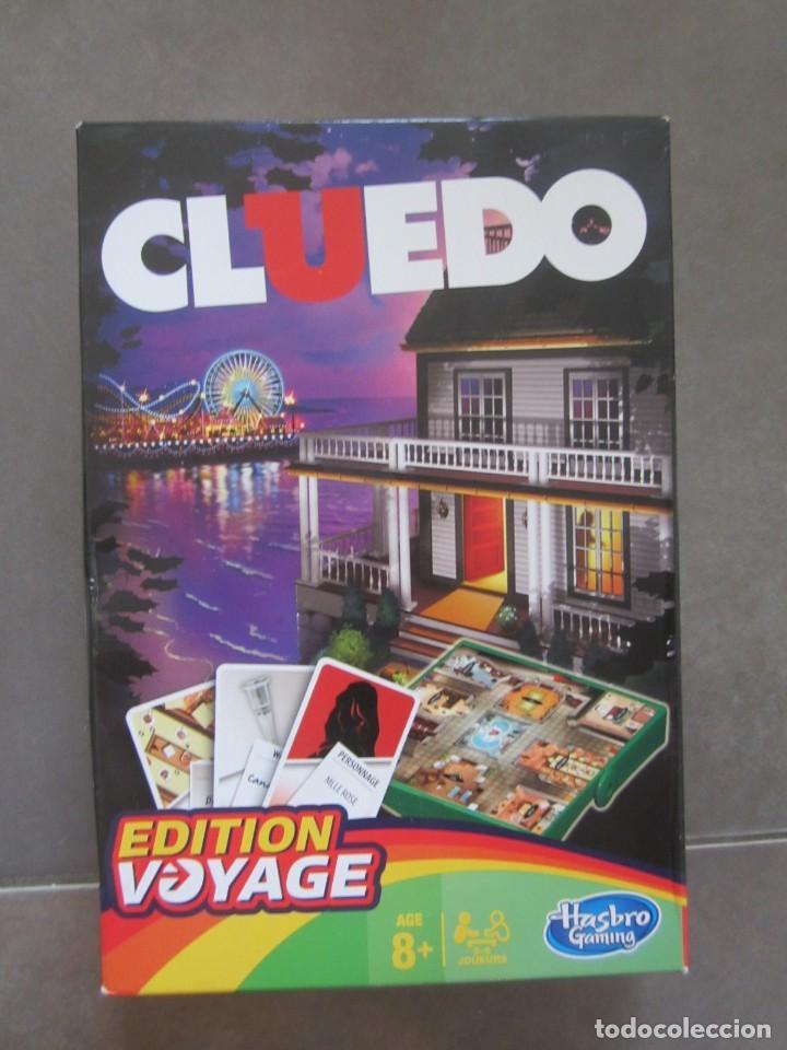 Cluedo Edicion Viaje En Frances De Hasbro Comprar Juegos De Mesa