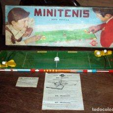 Juegos de mesa: MINITENIS DE CONGOST - EN SU CAJA ORIGINAL, CON INSTRUCCIONES Y HOJA CALIDAD - AÑOS 70 - MINI TENIS. Lote 137696886