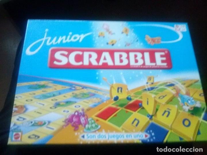 Scrabble Junior Mattel Comprar Juegos De Mesa Antiguos En
