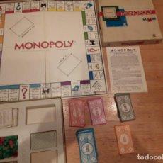 Juegos de mesa: MONOPOLY ANTIGUO, CALLES DE MADRID, COMPLETO.. Lote 137770918