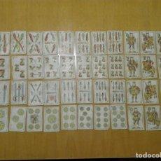 Juegos de mesa: BARAJA SEBASTIAN COMAS Y RICART, RIÑA DE GALLOS . TIMBRE DEL ESTADO 30 CENTIMOS. CA 1908. Lote 137786742