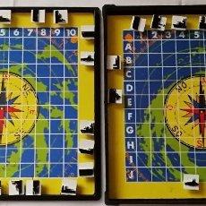 Juegos de mesa: JUEGO GUERRA DE BARCOS MESA O VIAJE. Lote 137865586
