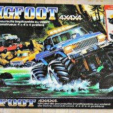 Juegos de mesa: JUEGO BIGFOOT 4X4X4 DE MB. INCOMPLETO. Lote 137934418