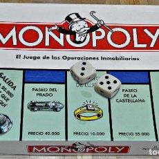 Juegos de mesa: MONOPOLY DE PARKER DEL AÑO 2000.. Lote 137935782