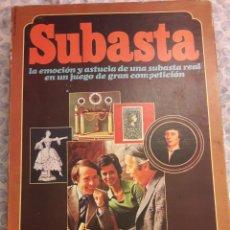 Juegos de mesa: JUEGO SUBASTA EDUCA AÑOS 70 COMPLETO. Lote 138069192