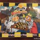 Juegos de mesa: AJEDREZ CHUPA CHUPS CON FIGURAS EN PVC. Lote 138172390