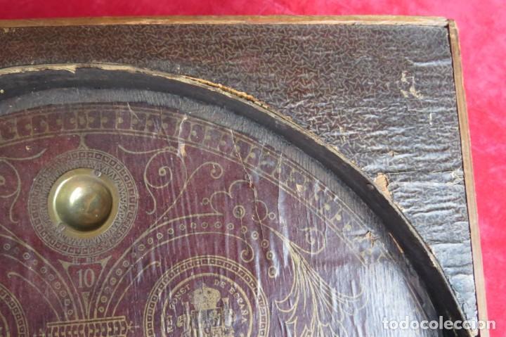 Juegos de mesa: ANTIGUO BILLARIN BILLAR MADERA - ALFONSO XIII 1898 - PIN BALL - MILLONCETE - MILLON - Foto 7 - 138240426