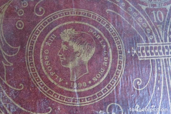 Juegos de mesa: ANTIGUO BILLARIN BILLAR MADERA - ALFONSO XIII 1898 - PIN BALL - MILLONCETE - MILLON - Foto 8 - 138240426